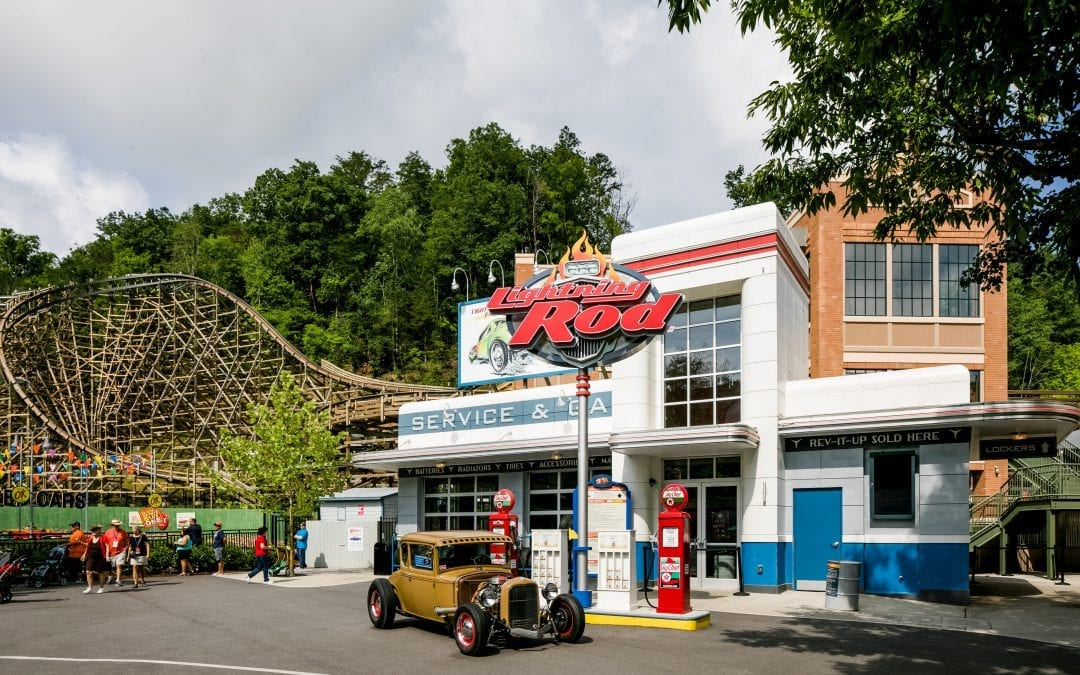 Dollywood Lightning Rod